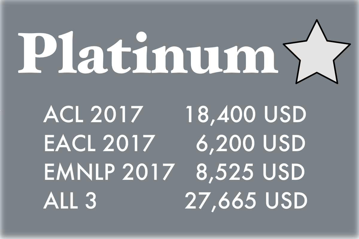 platinum sponsor pricing summary